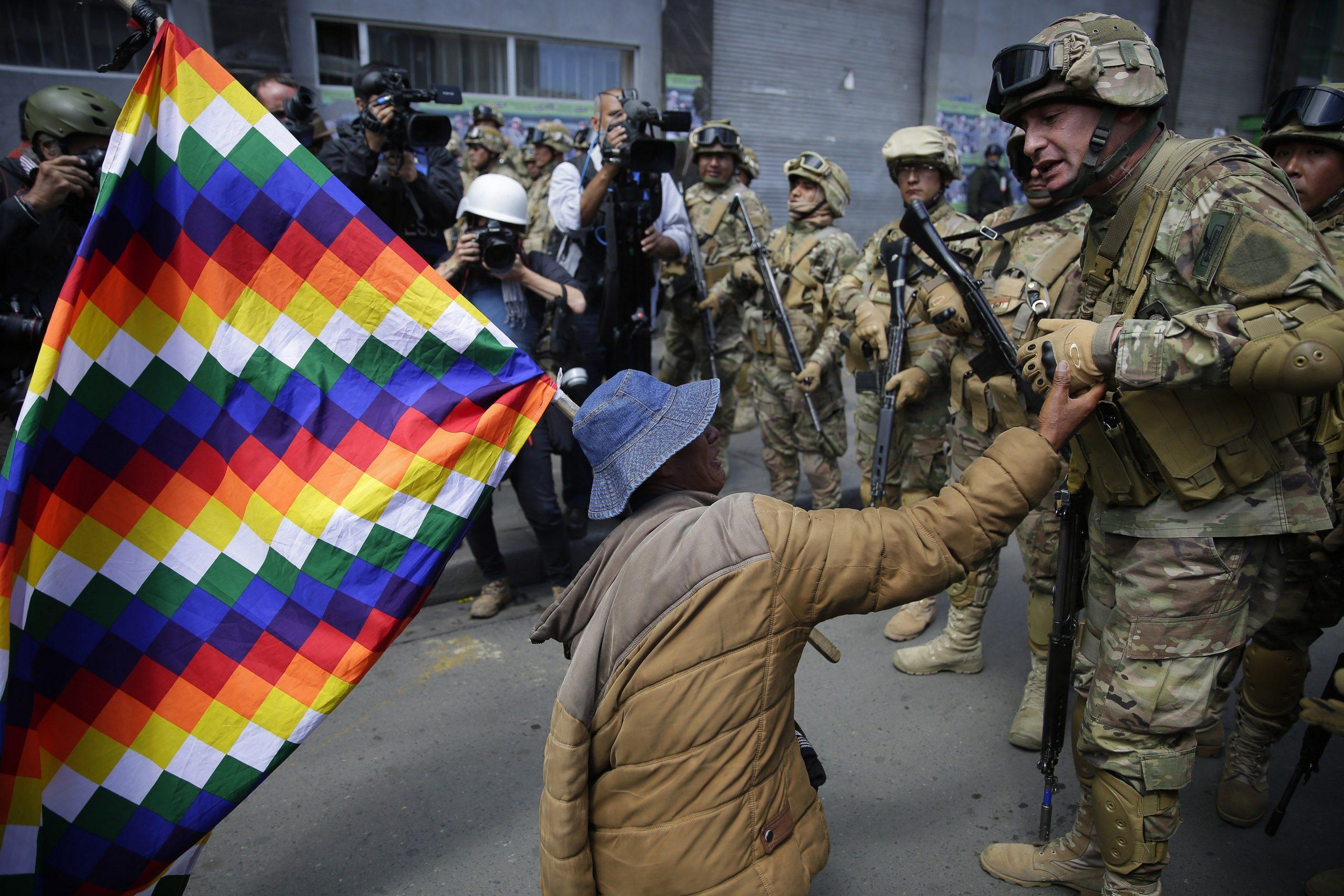 Hijos de Evo Morales llegan a Argentina