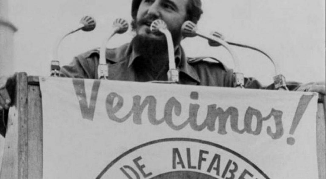 Alfabetización en Cuba