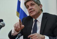 Carlos F. De Cossio, director general de Estados Unidos del Ministerio cubano de Relaciones Exteriores