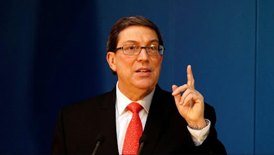 Denuncia Canciller cubano al bloqueo estadounidense como contrario al Derecho Internacional