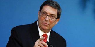 Denuncia canciller cubano informe sobre derechos humanos en Venezuela