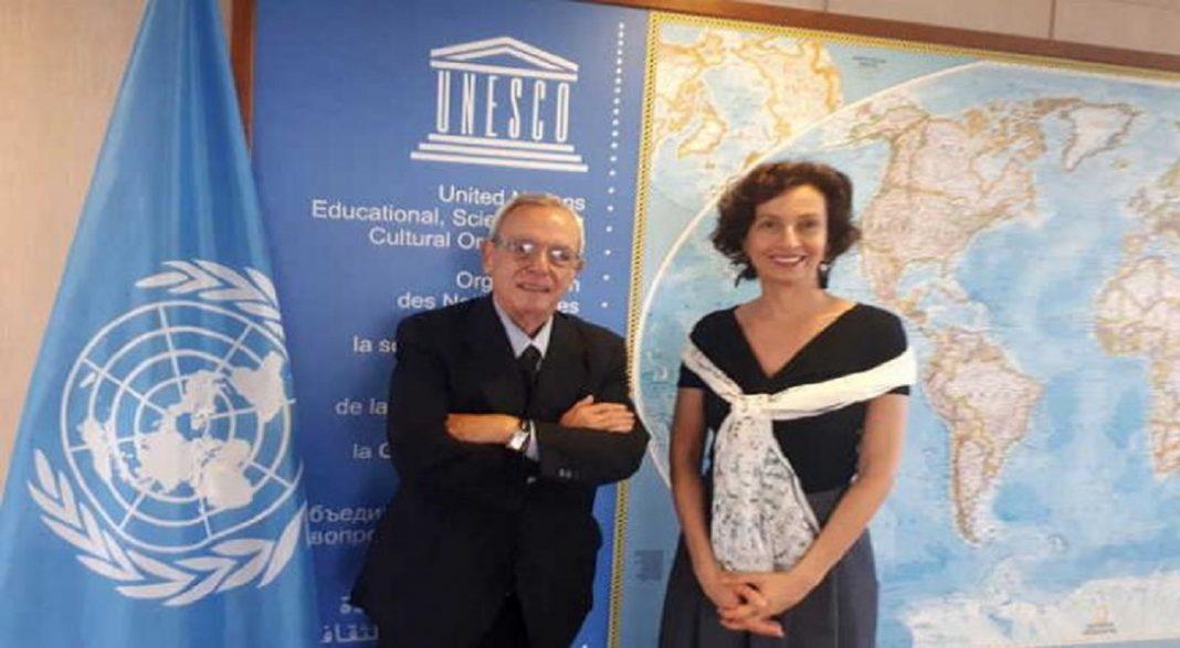 Directora General de la Unesco rinde tributo a Eusebio Leal