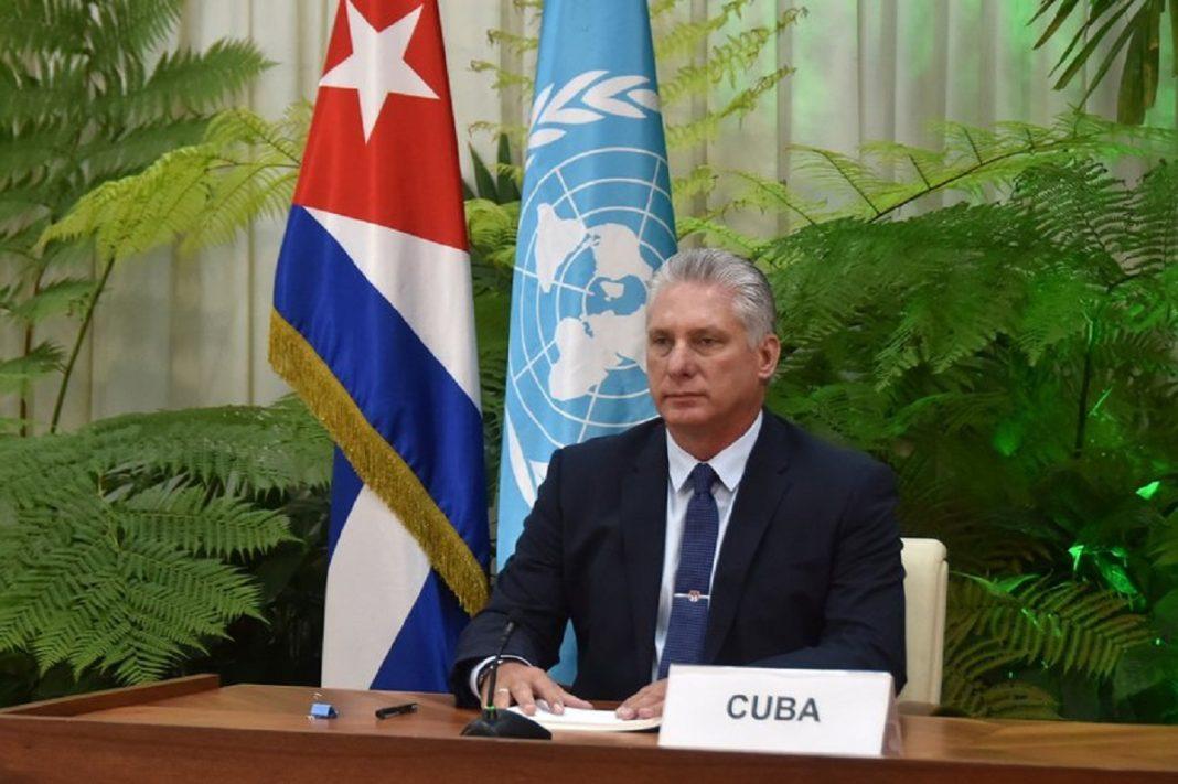 Intervención de presidente Miguel Díaz-Canel en el Debate General del 75 Período Ordinario de Sesiones de la Asamblea General de Naciones Unidas