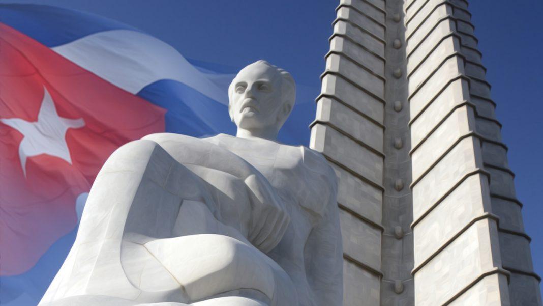 José Martí en la Plaza de la Revolución